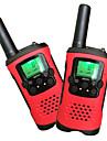 barn walkie talkie 22 kanaler och bakgrundsbelyst LCD-skärm (upp till 6km i öppna områden) walkie talkies för barn (1 par) T48