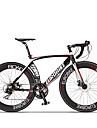 Velos Confort Velo Route Cyclisme 14 Vitesse 26 pouces/700CC SHIMANO ST A070 Frein a Disque Sans AmortisseurCadre en Aluminium Sans