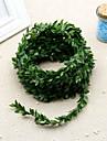 1 Une succursale Polyester Plantes Guirlande et Fleur Murale Fleurs artificielles 750