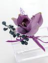 Flori de Nuntă Formă liberă Crini Lavandă Butoniere Nuntă Petrecere / Seară Satin