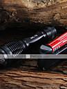 Lampes Torches LED Lampes de poche LED 2000 Lumens 5 Mode Cree XM-L T6 Faisceau Ajustable pour Camping/Randonnee/Speleologie Usage