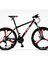 Velo tout terrain Cyclisme 27 Vitesse 26 pouces/700CC MICROSHIFT TS38 Frein a Disque Fourche de suspensionCadre en Alliage d\'Aluminium