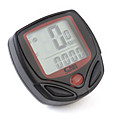 cheap Bike Computers & Electronics-Bike Computer,Digital LCD Cycle Computer Bicycle Speedometer 13 Functions Odometer Speed