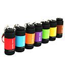 hesapli Fenerler-Anahtarlık Fenerler LED 25lm 1 Işıtma Modu Mini / Su Geçirmez Günlük Kullanım Kırmzı / Yeşil / Mavi