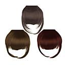billiga Syntetisk hårförlängning-klipp i syntetisk bang med tempel 3 färger