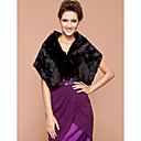 cheap Jewelry Sets-Feather / Fur Wedding / Party Evening Wedding  Wraps / Fur Wraps With Shawls
