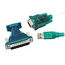 ieftine USB-USB 2.0 de 9/25 de pini serial RS232 cablu db9/db25 adaptor