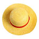 ieftine Anime Costume-Pălărie/Șapcă Inspirat de One Piece Monkey D. Luffy Anime Accesorii Cosplay Pălărie Șapcă Funie de paie Bărbați fierbinte
