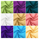 billige Swatches-chiffong stoffprøver av 1 verftet med 32 farger