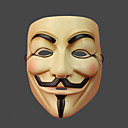 preiswerte Masken-V für Vendetta Maske Herrn Damen Halloween Karneval Silvester Fest / Feiertage Halloween Kostüme Austattungen Druck