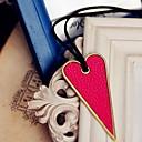 cheap Bracelets-Pendant / Necklace - Heart, Love Casual Black, Fuchsia Necklace For