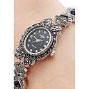 preiswerte Schmuck Sets-Damen Armband-Uhr Japanisch Armbanduhren für den Alltag Legierung Band Charme / Modisch Schwarz / Ein Jahr / SSUO SR626SW