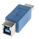 preiswerte USB Kabel-High-Speed-3.0 A Stecker auf B Buchse Adapter blau