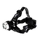 billige Lommelykter & campinglykter-LED Lommelygter Hodelykter Frontlys til sykkel 1000 lm LED Cree® XM-L T6 1 emittere 3 lys tilstand Oppladbar / Aluminiumslegering