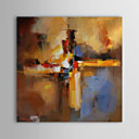 cheap Prints-Oil Painting Hand Painted - Abstract Comtemporary Stretched Canvas