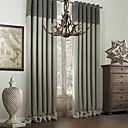 baratos Luminárias de Teto-Cortinas cortinas Quarto Multi-Côr Poliéster Estampado