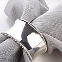 povoljno Prsteni za ubruse-set od 4 luksuzne modernog dizajna legure cinka salveta prstenom