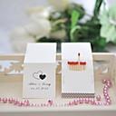 povoljno Svadbeni privjesci za ključeve-Svadba Tvrda kartica papira Miješani materijal Vjenčanje Dekoracije Klasični Tema Sva doba