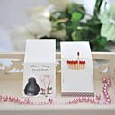 halpa Hääkoristeet-Hääjuhla Kova kartonki Monimateriaali Wedding Kunniamerkit Klassinen teema Kaikki vuodenajat