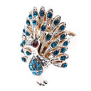cheap Earrings-Women's Statement Ring - Imitation Diamond, Alloy Peacock Luxury 8 Blue / Golden For Daily