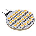preiswerte LED Doppelsteckerlichter-SENCART 1pc 3 W 3000 lm G4 LED Doppel-Pin Leuchten 25 LED-Perlen Warmes Weiß 12 V