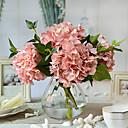 olcso Művirág-Művirágok 4.0 Ág Európai stílus Hortenzia Asztali virág