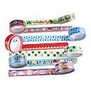ieftine Rechizite de Școală-bandă adezivă (set de 4 culori aleatorii) pentru școală / birou