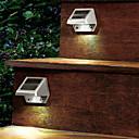 preiswerte Außenwandleuchten-1pc solar power 4led garten licht rinne zaun wand dach garten led lampe