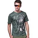 voordelige Rugzakken & Tassen-Heren Wandel T-shirt Buiten Sneldrogend Ultra-Violetbestendig Ademend T-shirt Kleding Bovenlichaam Kamperen&Wandelen Vissen Klimmen Racen