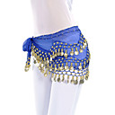 cheap Holiday Party Decorations-Belly Dance Belt Women's Training Chiffon Coin Hip Scarf / Ballroom