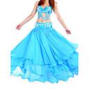 hesapli Göbek Dansı Giysileri-Göbek Dansı Etek Kadın's Eğitim Şifon Doğal / Balo Salonu