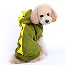 halpa Koiran vaatteet-Koira Asut Hupparit Koiran vaatteet Piirretty Punainen Vihreä Puuvilla Asu Lemmikit Miesten Naisten Sievä Cosplay