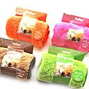 זול מיטות כלבים & שמיכות-כלב מגבת ניקוי חיות מחמד משטחים רך כתום קפה ירוק ורוד עבור חיות מחמד