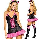 tanie Seksowne kostiumy-Bunny Girl Kostiumy Cosplay Kostium imprezowy Damskie Halloween Karnawał Festiwal/Święto Stroje Patchwork