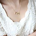 preiswerte Halsketten-Damen Pendant Halskette Herz Liebe damas Simple Style Silber Golden Modische Halsketten Schmuck Für Party Geburtstag Geschenk Alltag Normal