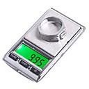 ieftine Robinete Chiuvetă Baie-0.01g * 100g * 0.1g 500g dual Mini Digital bijuterii de buzunar Scale