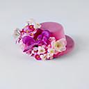 hesapli Parti Başlıkları-Kristal Kumaş İpek - Tiaras Çiçekler 1 Düğün Özel Anlar Parti / Gece Günlük Başlık