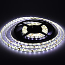 abordables Cerraduras Inteligentes-5 m Tiras LED Flexibles 300 LED 3528 SMD Blanco Cálido / Blanco Impermeable 12 V