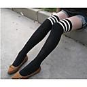 povoljno Čarape i hulahopke-Tanke Žene Samostojeće čarape - Prugasti uzorak Obala One-Size