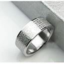 baratos Anéis para Homens-Homens Anel de banda - Aço Inoxidável Cruz 9 / 10 / 8½ Para Presentes de Natal / Diário / Casual