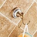 cheap Shower Heads-Robe Hook High Quality Antique Brass Ceramic 1 pc - Hotel bath