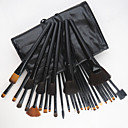 cheap Eyeshadows-32pcs new professional makeup brush with free case