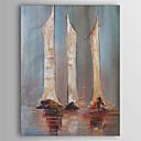 halpa Abstraktit maalaukset-Hang-Painted öljymaalaus Maalattu - Abstrakti Comtemporary Kangas