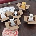 baratos Dardos, Frisbees e bumerangues-brinquedo animal desenho notas auto-adesivos pequenos (cor aleatória)