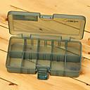 abordables Boîte de pêche-186 * 103 * 34MM Army Green Box pêche Tackle Box