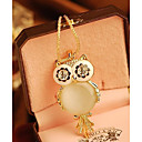 cheap Necklaces-Women's Pendant Necklace - Owl, Snowflake Fashion Screen Color Necklace For Special Occasion, Birthday, Gift