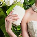 baratos Clutches & Bolsas de Noite-Mulheres Bolsas Metal Bolsa de Festa Pérolas Sintéticas / Cristal / Strass Branco / Preto / Champanhe / Sacolas de casamento