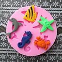 abordables Utensilios de Horno-Herramientas para hornear Silicona Ecológica / Manualidades Pastel / Tarta / Chocolate Animal Molde para hornear 1pc