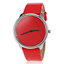 abordables Relojes de Moda-Mujer Reloj Deportivo Gran venta PU Banda Caramelo / Moda Negro / Blanco / Rojo / Un año / SSUO 377