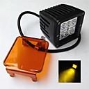 preiswerte Taglichter-otolampara 1 stück 3000k gelbe farbe helligkeit 18 watt 335 6 led ip67 anti-fog führte arbeitslicht